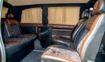 Шторки в салон Мерседес Вито 639 (автомобильные шторки на стекло
