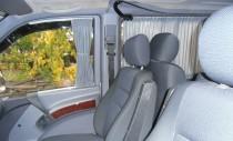 Шторки Мерседес Вито W638 (автомобильные шторки Mersedes Vito W638)