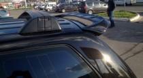 Спойлер Фольксваген Туарег 1 (задний спойлер Volkswagen Touareg 1 дорестайл)