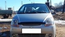 Мухобойка капота Шевроле Спарк 2 (дефлектор на капот Chevrolet Spark 2)