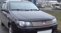 Мухобойка капота Фиат Альбеа (дефлектор на капот Fiat Albea)