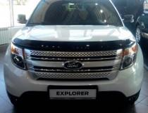 Мухобойка капота Форд Эксплорер 5 (дефлектор на капот Ford Explorer 5)