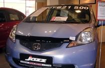 Мухобойка капота Хонда Джаз 2 (дефлектор на капот Honda Jazz 2)
