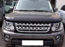 Мухобойка капота Ленд Ровер Дискавери 4 (дефлектор на капот Land Rover Discovery 4)