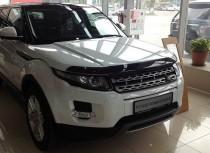 Мухобойка капота Рендж Ровер Эвок (дефлектор на капот Range Rover Evoque)