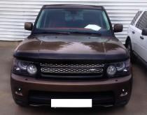 Мухобойка капота Рендж Ровер Спорт 1 (дефлектор на капот Range Rover Sport 1)