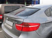 Накладка на крышку багажника Бмв Х6 Е71 (спойлер лип)