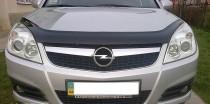 Дефлектор капота Опель Вектра С (мухобойка Opel Vectra C)