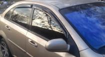 Дефлекторы окон Шевроле Лачетти (ветровики Chevrolet Lacetti)