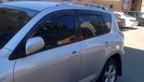 Дефлекторы окон Тойота Рав 4 3 (ветровики Toyota RAV4 3)