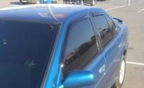 Ветровики Ниссан Примера Р10 (дефлекторы окон Nissan Primera P10)