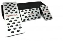 Накладки на педали Хонда Пилот 2 автомат (алюминиевые накладки педалей Honda Pilot 2)