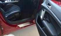 Накладки на пороги Пежо 308 2 (защитные накладки Peugeot 308 T9)