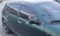 Дефлекторы окон Фольксваген Гольф 4 (ветровики Volkswagen Golf 4)