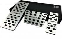 JTEC Накладки на педали Вольво ХС60 автомат (накладки педалей для Volvo Xc60)
