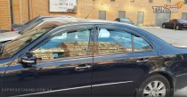 Дефлекторы окон Мерседес W211 (ветровики Mercedes W211)