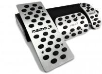 Накладки на педали Mazda 3 BL автомат (накладки педалей для Мазда 3 BL)