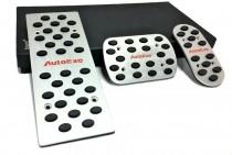 Накладки на педали Мазда 3 БЛ Акпп (стальные накладки педалей на Мазду 3 BL)