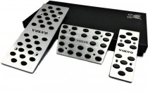 Накладки на педали Вольво ХС70 2 автомат (накладки педалей на Volvo Xc70 2)