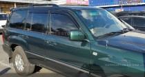 Дефлекторы окон Тойота Ленд Крузер 100 (ветровики Toyota Land Cruiser 100)