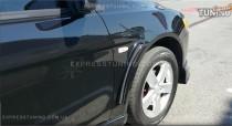 накладки на крылья Mitsubishi Lancer X