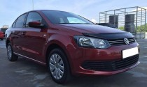 FLY Дефлектор капота Фольксваген Поло 5 (мухобойка Volkswagen Polo 5)