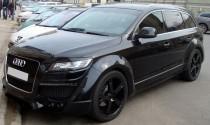 Комплект ресничек накладок на фары Ауди Кью 7 (Audi Q7)