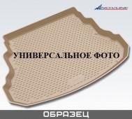 Коврик в багажник БМВ Х3 F25 бежевый (автомобильный коврик багажника BMW X3 F25 светлый)