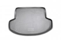 Коврик в багажник Митсубиси Лансер 10 хэтчбек (автомобильный коврик багажника Mitsubishi Lancer X hatchback)