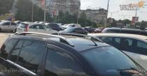 Рейлинги Форд Фьюжн (рейлинги на крышу Ford Fusion Crown алюминий)