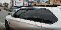 HIC Дефлекторы окон БМВ Х5 Ф15 (ветровики BMW X5 F15)