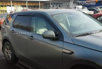 Ветровики Ленд Ровер Дискавери Спорт (дефлекторы окон Land Rover Discovery Sport)