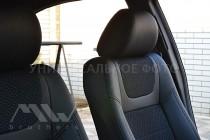 комбинированые Чехлы BMW X1 E84 (авточехлы на сидения БМВ Х1 Е84