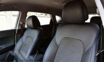 Чехлы в салон Хендай Туксон ТЛ (авточехлы сидений Hyundai Tucson TL)