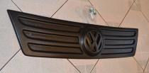 Накладка на решетку радиатора Фольксваген Кадди 3 (матовая зимняя накладка решетки Volkswagen Caddy 3)