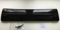 Накладка на решетку радиатора Ситроен Берлинго (зимняя накладка решетки Citroen Berlingo глянцевая)