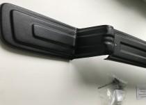 защита в бампер Т5 (накладка решетки бампера Transporter T5 мато