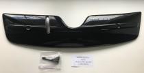Заглушка решетки радиатора Skoda Octavia A5 FL глянцевая (накладка на радиатора Шкода Октавия А5 ФЛ рестайл)