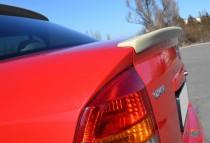 Задний спойлер на багажник Opel Astra G Classic (сабля спойлер А