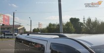 Рейлинги Ниссан Примастар (рейлинги на крышу Nissan Primastar концевик. метал)