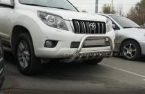 силовой обвес бампера Toyota Prado 150)