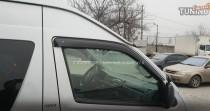 Ветровики Тойота Хайс Н200 (дефлекторы окон Toyota Hiace H200)