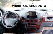 Накладки на панель Шевроле Авео Т250 (декор салона Chevrolet Aveo T250 под дерево)