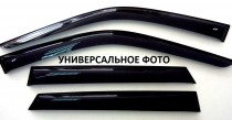 Ветровики Мерседес МЛ 166 (дефлекторы окон Mercedes ML W166)