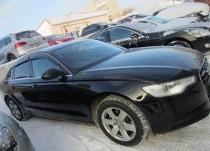 Ветровики Ауди А6 С7 седан (дефлекторы окон Audi A6 C7 sedan)