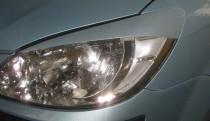 Накладки на передние фары Hyundai Getz (купить в ExpressTuning)