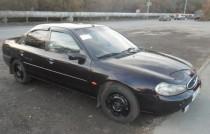 Ветровики Форд Мондео 2 седан (дефлекторы окон Ford Mondeo 2 sedan)