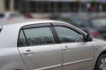 Ветровики Тойота Королла 120 хэтчбек (дефлекторы окон Toyota Corolla IX E120)
