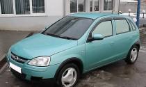 Ветровики Опель Корса С (дефлекторы окон Opel Corsa C 5D)