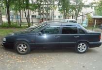 Ветровики Вольво 850 седан (дефлекторы окон Volvo 850 sedan)